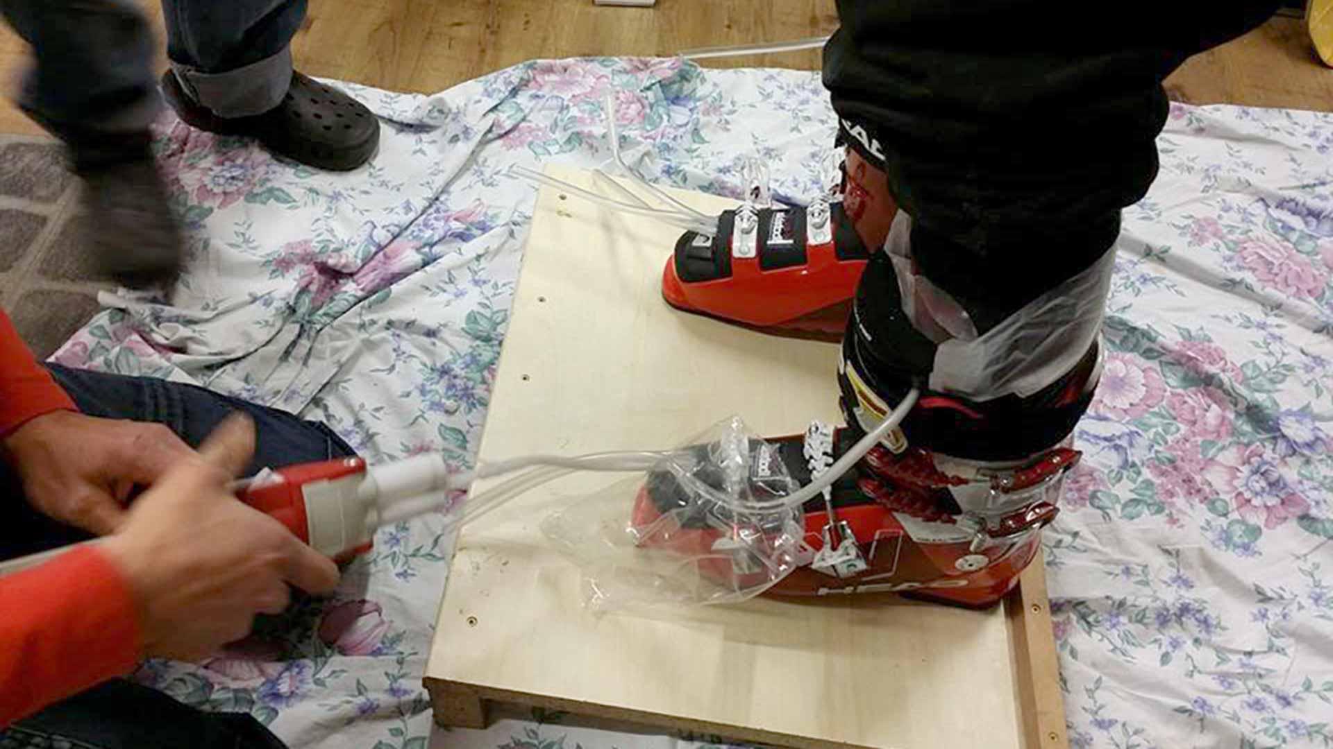Skistadl Mittelberg | Bootfitting